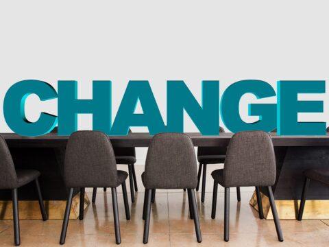 změna vedení